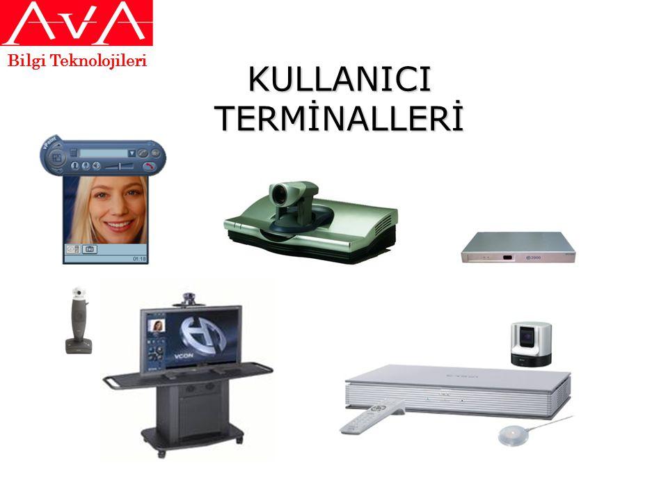 KULLANICI TERMİNALLERİ Bilgi Teknolojileri