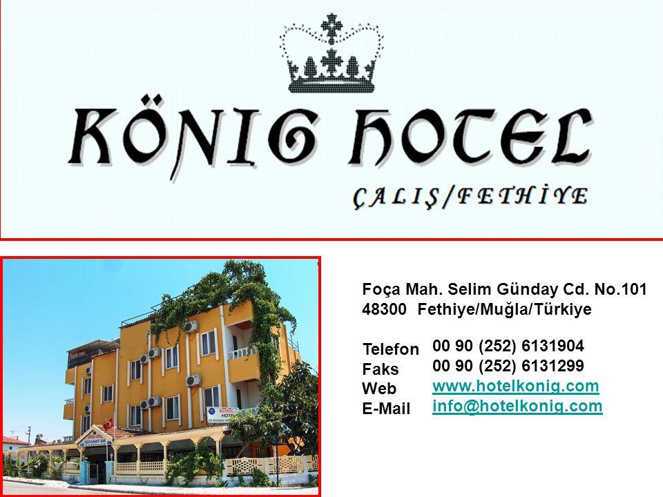 HAKKIMIZDA König Hotel; 1989 yılında hizmete açılmış olup, 21 yıldır misafirlerimize kaliteli ve konforlu hizmet sunmaktadır.