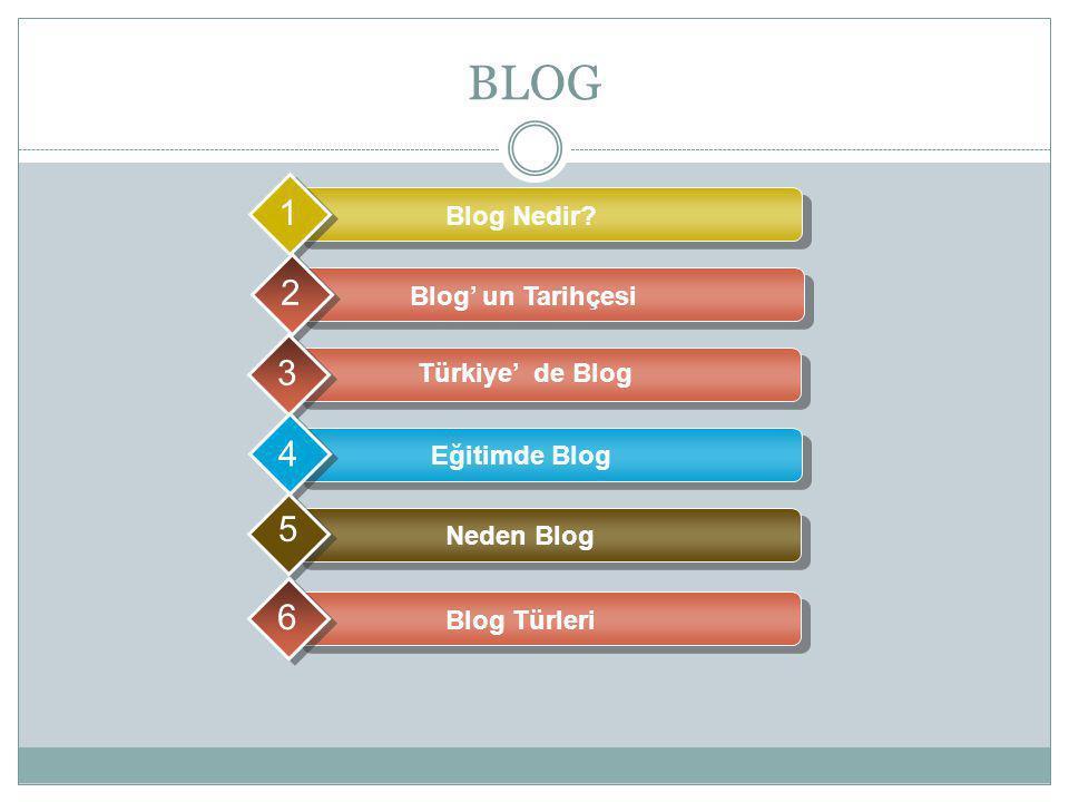 BLOG Blog Nedir.