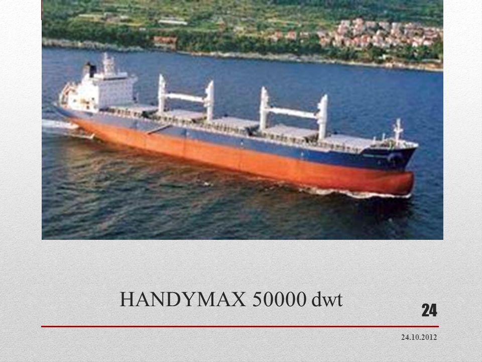 HANDYMAX 50000 dwt 24.10.2012 24