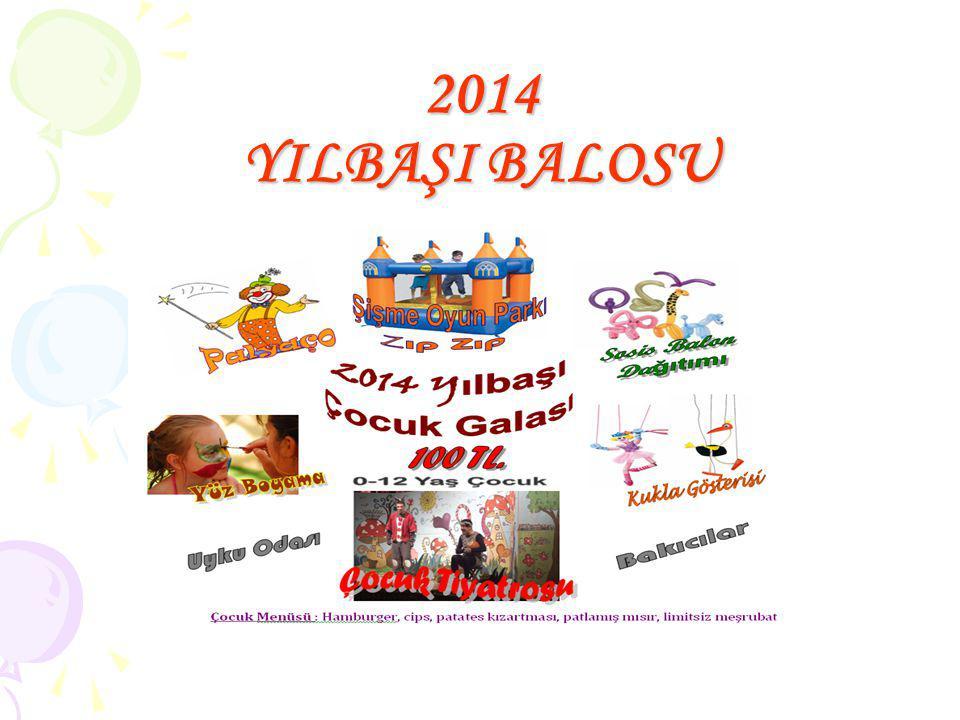 2014 YILBAŞI BALOSU