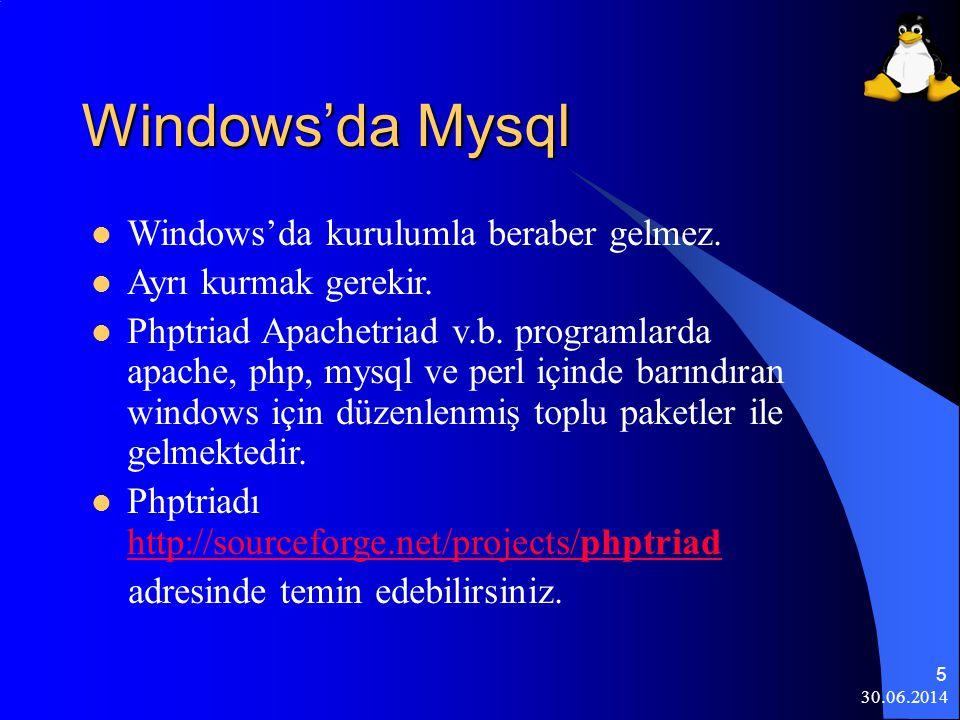 30.06.2014 6 PHP Nedir.