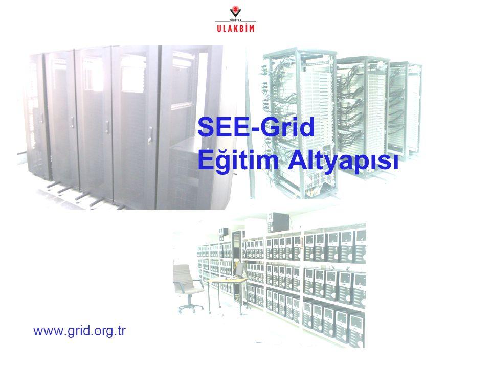 www.grid.org.tr SEE-Grid Eğitim Altyapısı