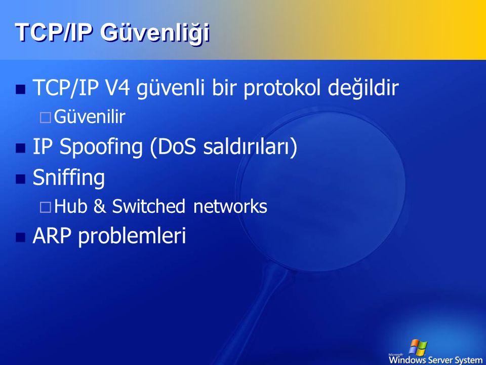 ARP, RARP Gerçek Dünya  4 katman yeterli 1. interface 2. network 3. transport 4. application IP, ICMP, IGMP TCP, UDP, IPsec HTTP, FTP, TFTP, telnet,