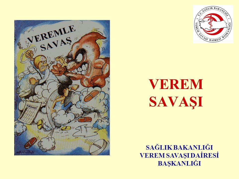 2 VEREM SAVAŞI EĞİTİM VE PROPAGANDA HAFTASI •Geleneksel olarak her yıl Ocak ayının ilk Pazar gününden başlamak üzere düzenlenmektedir.