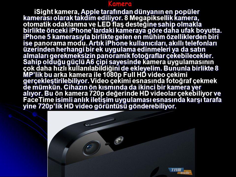 Kamera, Apple tarafından dünyanın en popüler kamerası olarak takdim ediliyor.