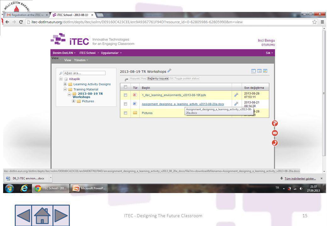 ITEC - Designing The Future Classroom15