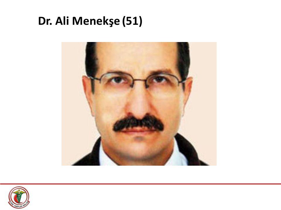 Dr. Ali Menekşe (51)