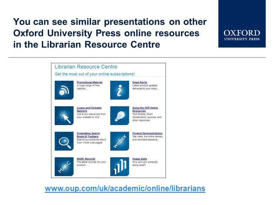 www.oxfordreference.com Further help Bu gösterim Oxford Reference'ın yalnızca küçük bir kısmını anlatmaktadır.