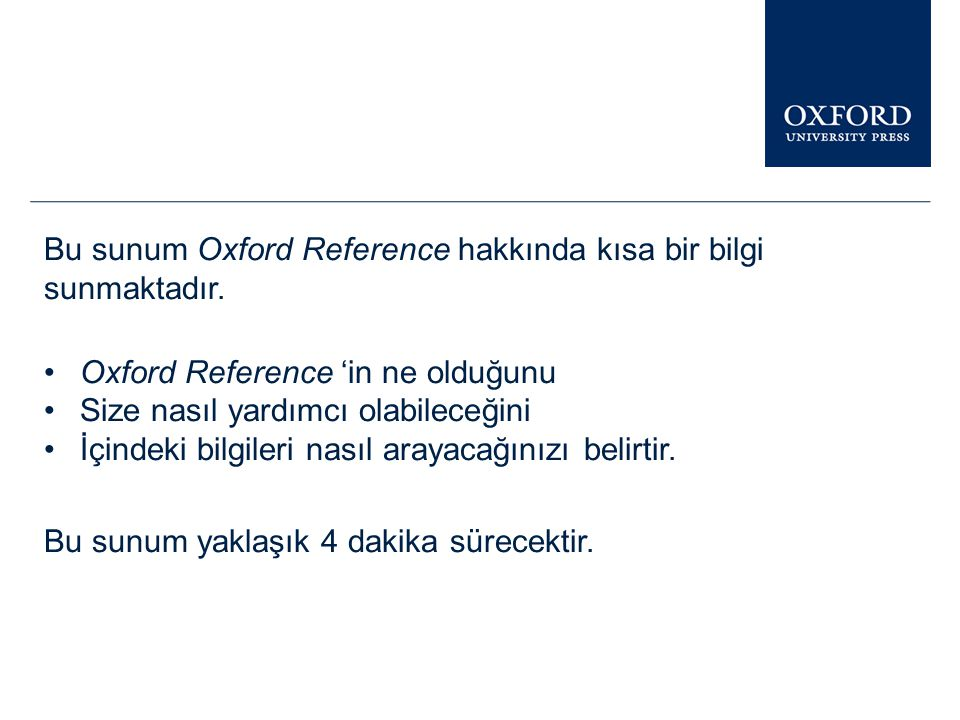 Online Resources From Oxford University Press