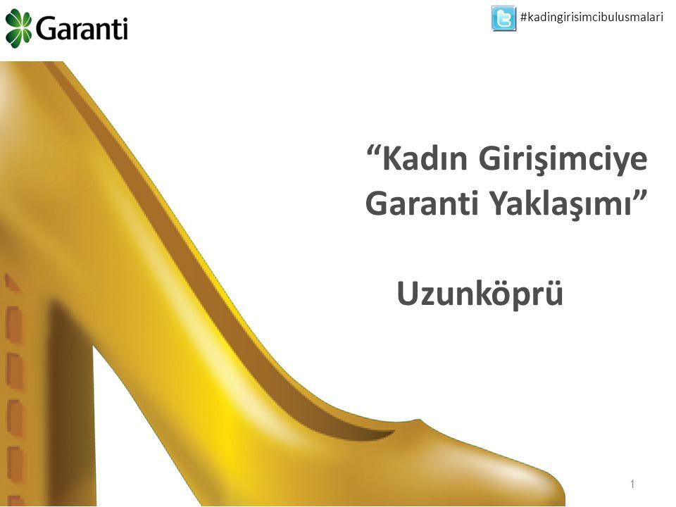 2 Türkiye'nin sosyal ve ekonomik gelişimi için kadın girişimcilerin desteklemesini sadece sosyal sorumluluk projesi olarak değil aynı zamanda işimizin önemli bir parçası olarak değerlendiriyoruz… 1 Finansal Destek 2 Eğitim 3 Cesaretlendirme Garanti & Kadın Girişimciler