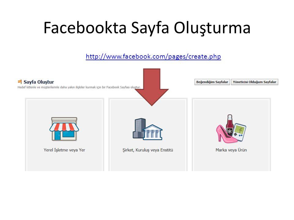 Facebookta Sınav http://www.proprofs.com