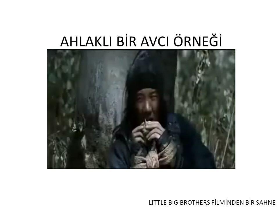 AHLAKLI BİR AVCI ÖRNEĞİ LITTLE BIG BROTHERS FİLMİNDEN BİR SAHNE