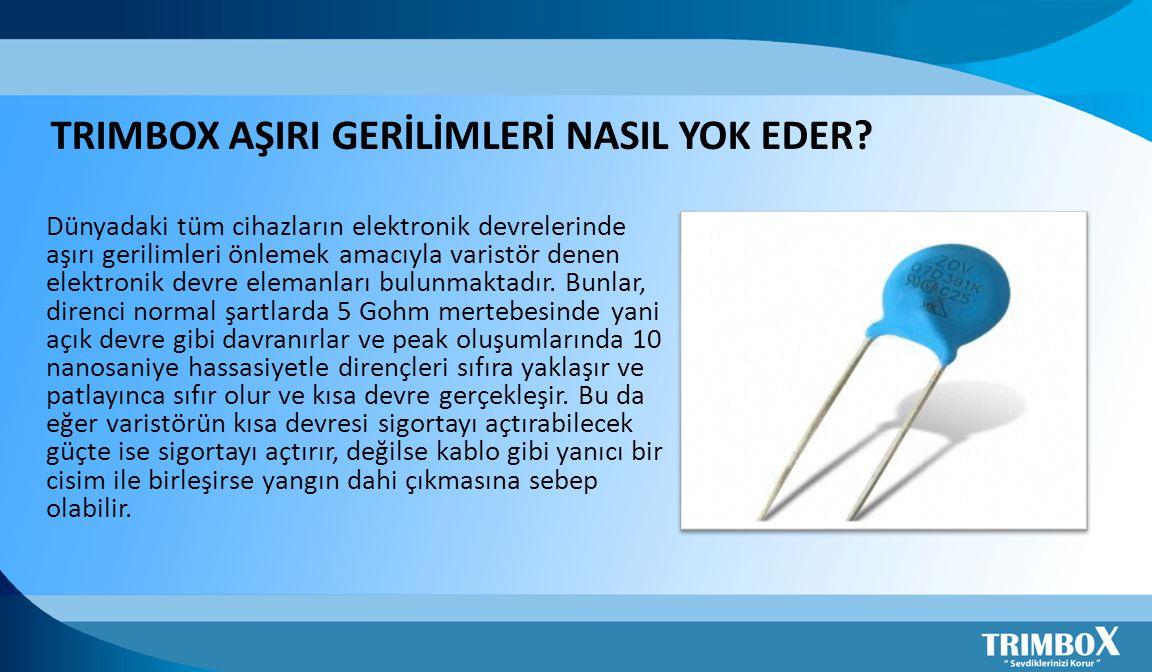 TRIMBOX AŞIRI GERİLİMLERİ NASIL YOK EDER.
