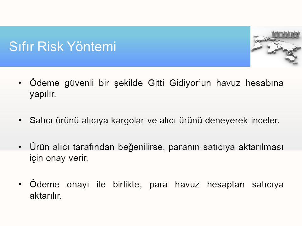 •Ödeme güvenli bir şekilde Gitti Gidiyor'un havuz hesabına yapılır.