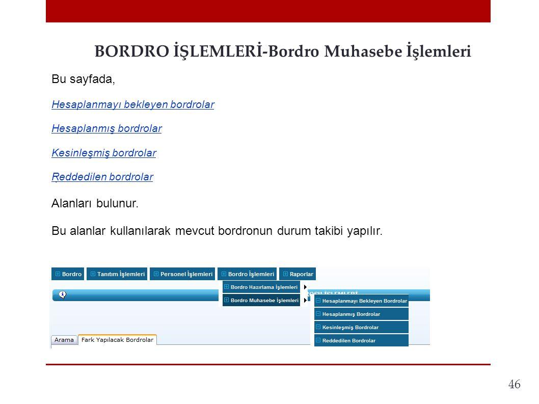 46 BORDRO İŞLEMLERİ-Bordro Muhasebe İşlemleri.