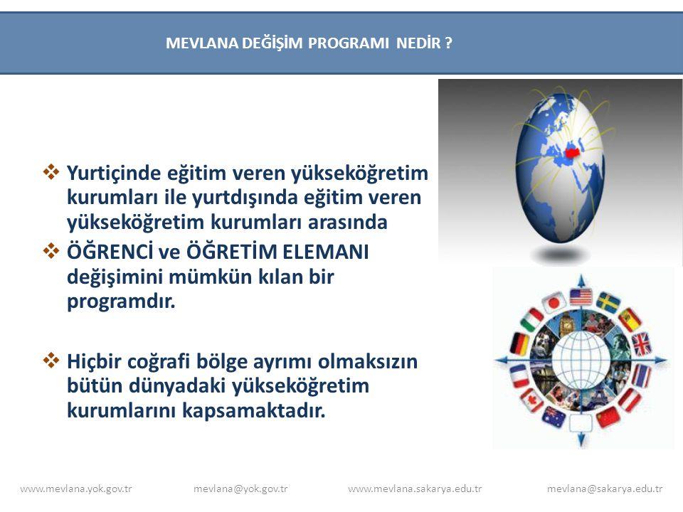  Öğrenciler, Türkiye'de kayıtlı olduğu yükseköğretim kurumunun Mevlana Değişim Programı kurum koordinasyon ofisine, https://mevlana.yok.gov.tr/https://mevlana.yok.gov.tr/ VEYA www.mevlana.sakarya.edu.tr internet adresinden www.mevlana.sakarya.edu.tr ulaşabileceği gerekli formları eksiksiz bir şekilde doldurarak başvurusunu gerçekleştirebilir.