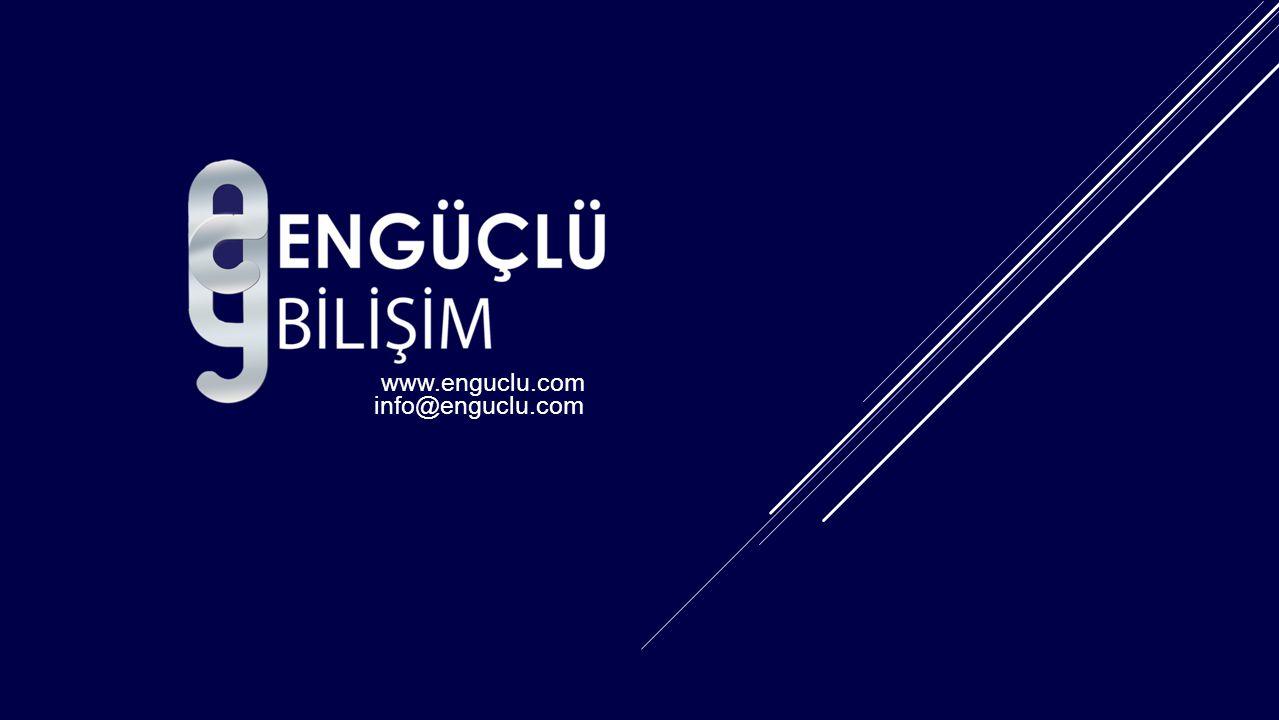 www.enguclu.com info@enguclu.com