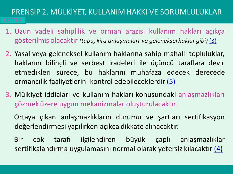 PRENSİP 2.