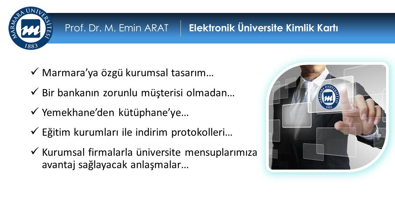 Marmara'ya özgü kurumsal tasarım…  Bir bankanın zorunlu müşterisi olmadan…  Yemekhane'den kütüphane'ye…  Eğitim kurumları ile indirim protokoller