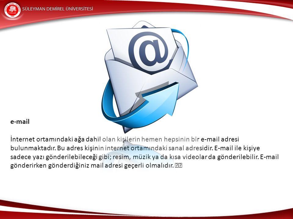 İnternette E-mail gönderebileceğiniz birçok mail sitesi bulunmaktadır.
