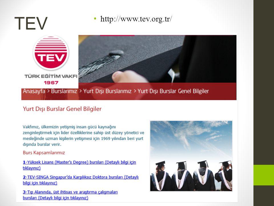 TEV • http://www.tev.org.tr/