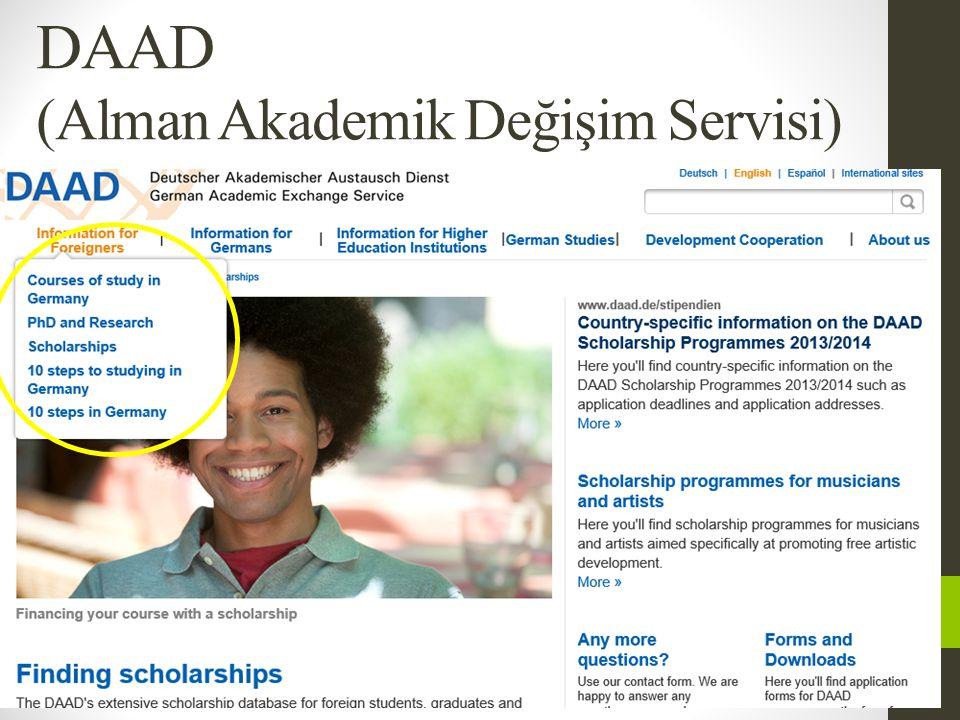 DAAD (Alman Akademik Değişim Servisi)