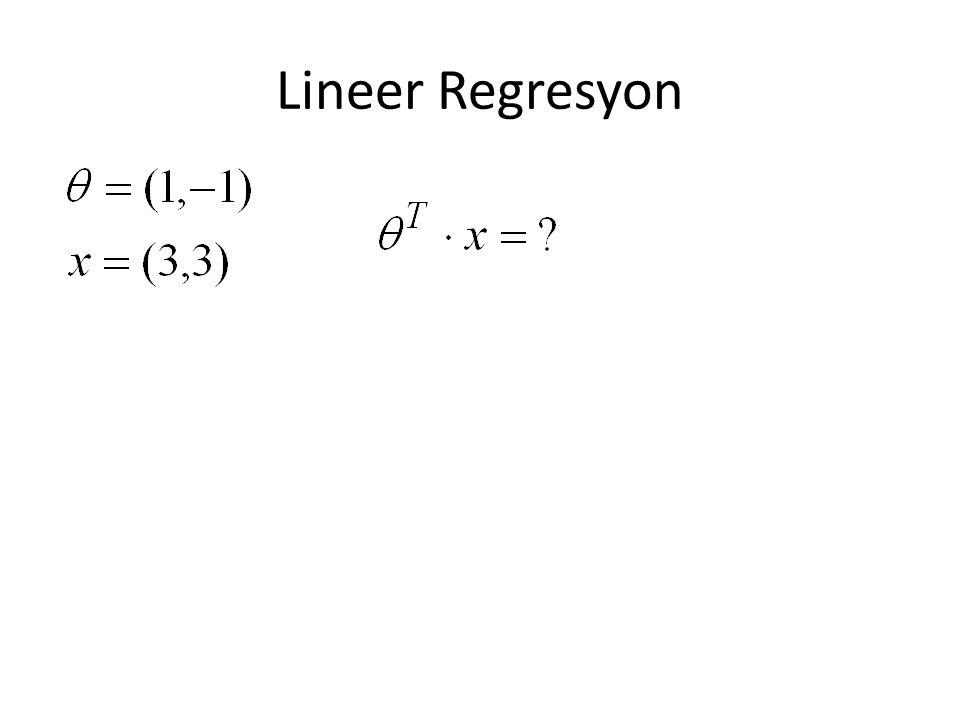 Lineer Regresyon