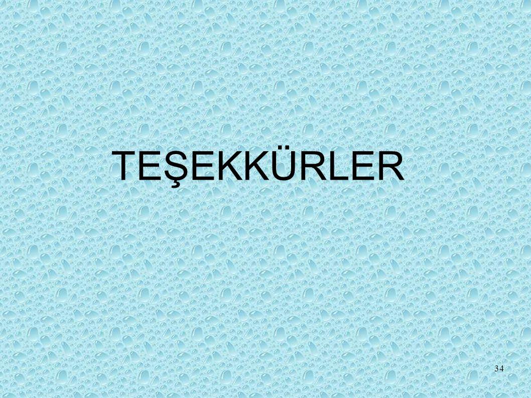 TEŞEKKÜRLER 34