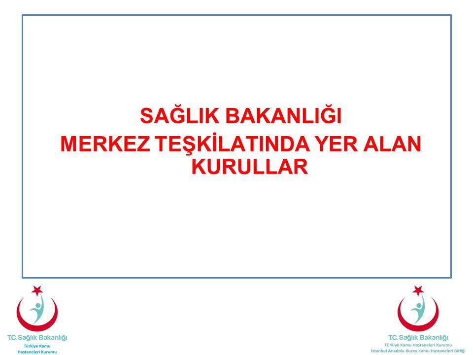 Türkiye Kamu Hastaneleri Kurumu •Kendisine bağlı sağlık kuruluşlarında hasta haklarına, hasta ve çalışanların sağlığına ve güvenliğine yönelik iyileştirme çalışmaları yapmak.