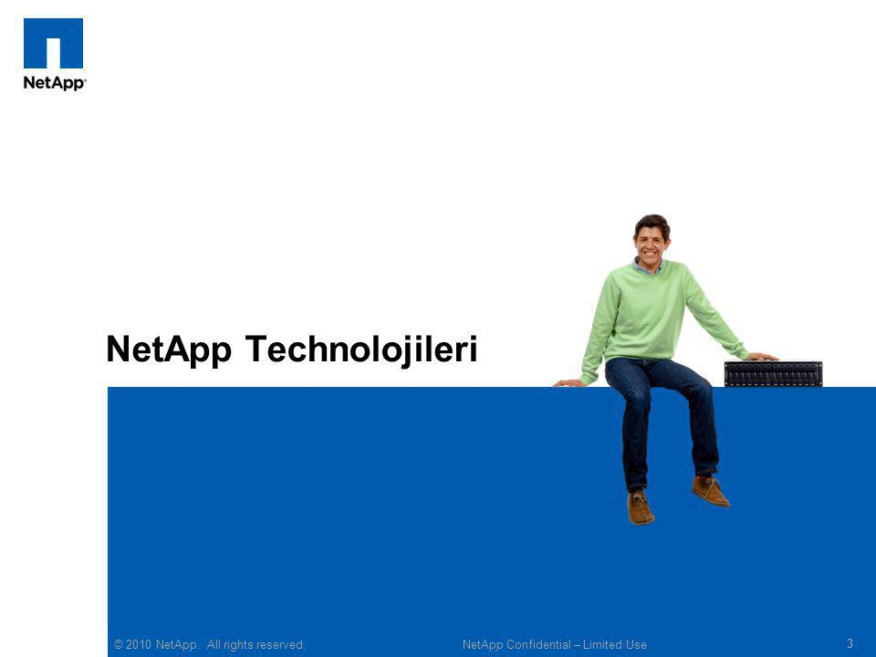 © 2010 NetApp.All rights reserved.