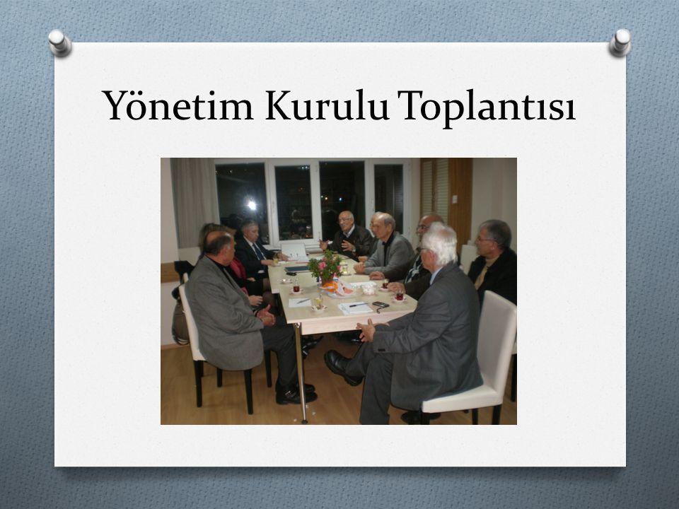 Yönetim Kurulu Toplantısı