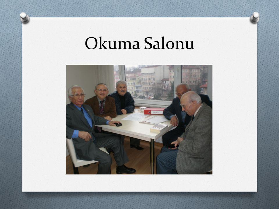 Okuma Salonu