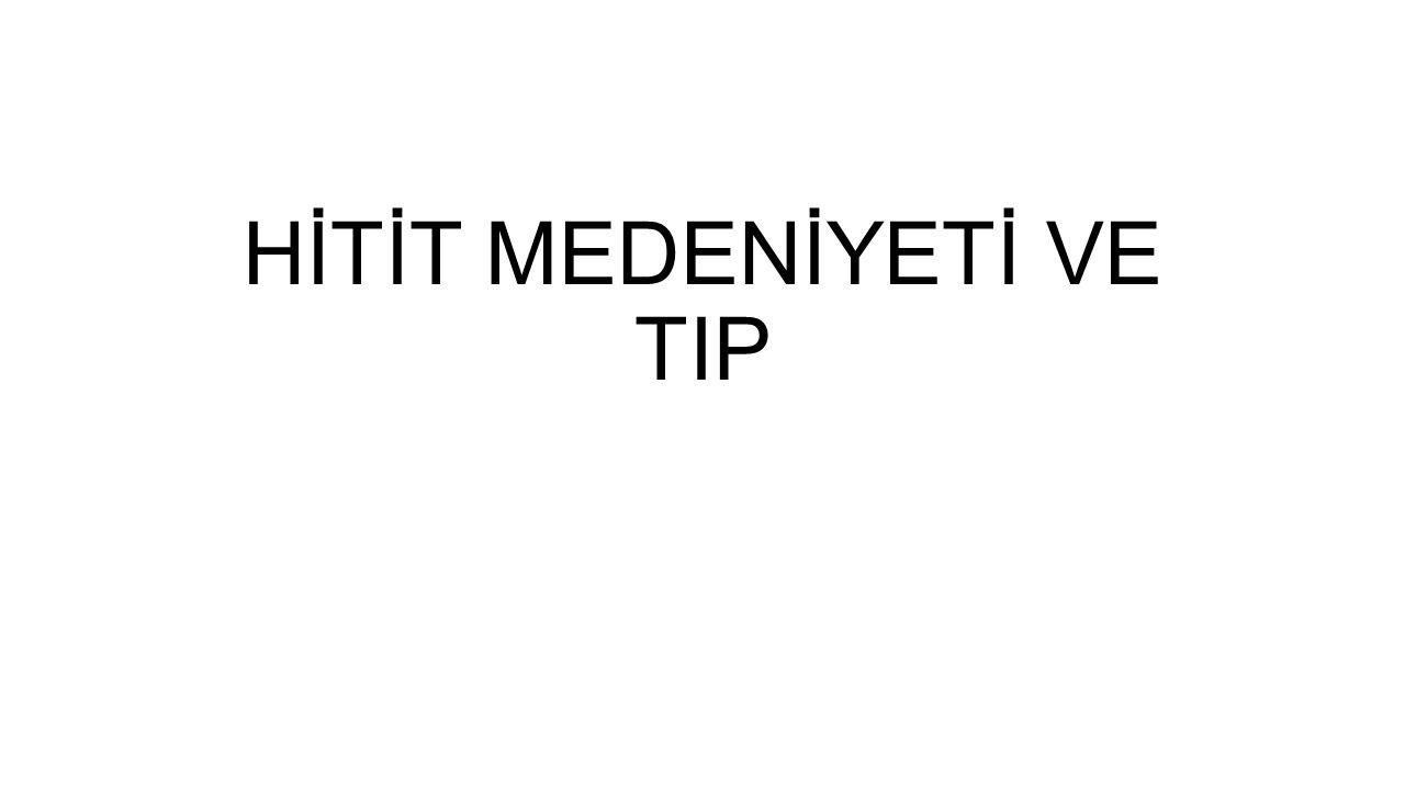 HİTİT MEDENİYETİ • 200 000 yıldır insan topluluklarının yaşadığı tespit edilen Anadolu'da, yerleşimin en gelişmiş şekli, taş çağında, Konya civarındaki Çatalhöyük'te görülmüştür.