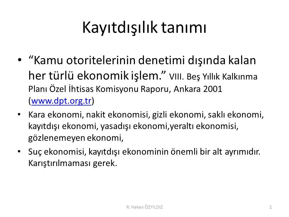 R.Hakan ÖZYILDIZ63 Neden.