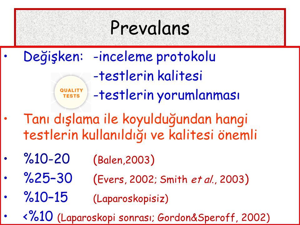 Tanısal Testler – Kanıta Dayalı Tıp HSG – L/S prognostik değeri Evers, 2003; Mol, 1999 HSG ve L/S de her iki tubası da açık olan olgularda 3 yıllık kümülatif gebelik oranı %11 olan bir toplumda; HSG: her iki tuba tıkalı  %6 gebelik L/S : her iki tuba tıkalı  %2 gebelik  L/S bile ALTIN STANDART DEĞİL, elimizdekinin en iyisi...