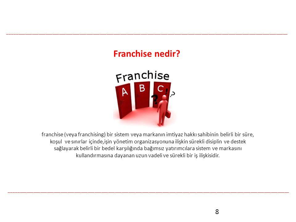 8 Franchise nedir.