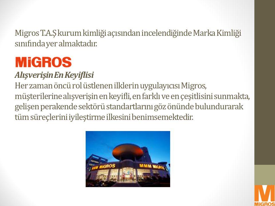 Migros'ta satılan tüm tüketim ürünlerinin ömür boyu Migros garantisi altına alınması Migros, garanti belgesi olmayan tüm ürünleri ömür boyu garanti altına almayı taahhüt etmiştir.