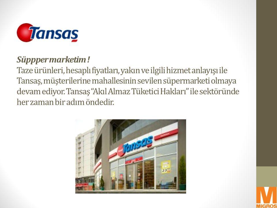 Migros'un müşterilerin taleplerini öngörme yetkinliği ile onlara daha yakın durabilme kabiliyeti, müşteriler tarafından da takdir edilmektedir.