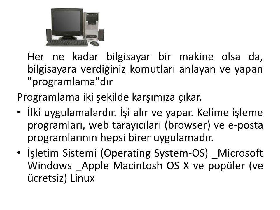 • Anakart ayrıca harici aygıtlar için (örneğin fare,yazıcı, klavye vb) dahili bağlayıcılar sağlar.