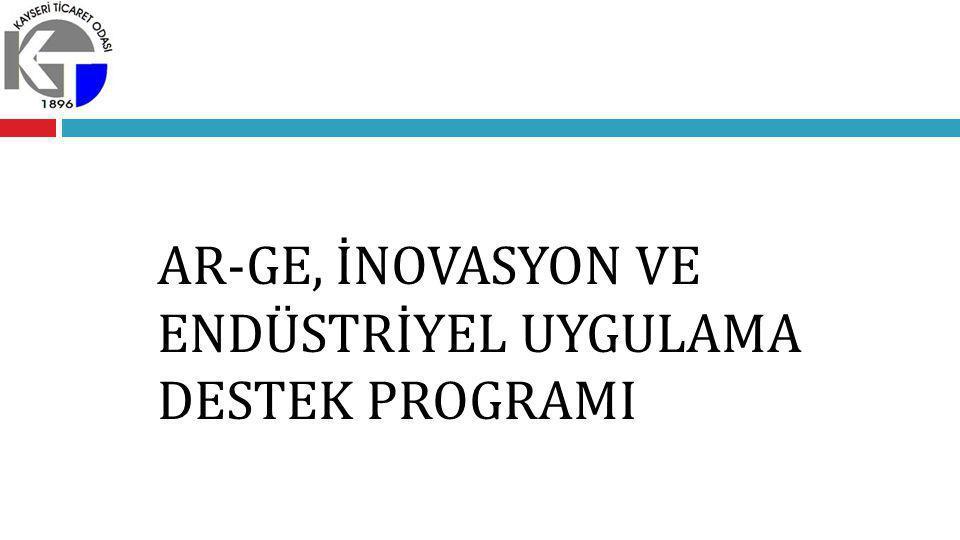 PROGRAMIN AMACI VE GEREKÇESİ  Bilim ve teknolojiye dayalı yeni fikir ve buluşlara sahip KOBİ ve girişimcilerin geliştirilmesi,  Teknolojik fikirlere sahip tekno-girişimcilerin desteklenmesi,  KOBİ'lerde Ar-Ge bilincinin yaygınlaştırılması ve Ar-Ge kapasitesinin artırılması,  Mevcut Ar-Ge desteklerinin geliştirilmesi,  İnovatif faaliyetlerin desteklenmesi,  Ar-Ge ve İnovasyon proje sonuçlarının ticarileştirilmesi ve endüstriyel uygulamasına yönelik destek mekanizmalarına ihtiyaç duyulması.