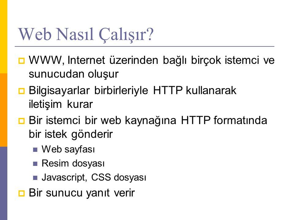 Web Nasıl Çalışır.