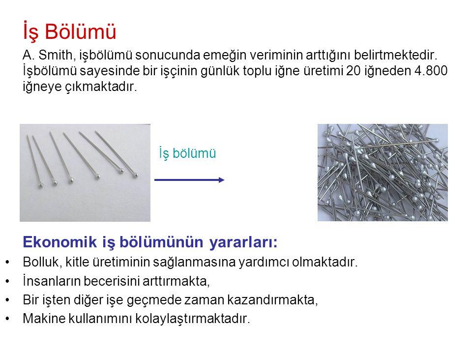 •T•Türkiye tekstil üretiminde diğer ülkelere göre daha ucuz üretimi gerçekleştirebiliyorsa •T•Tekstil üretiminde uzmanlaşmalıdır.