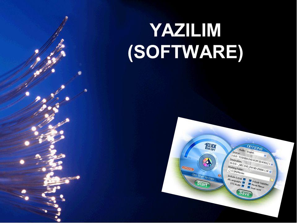 YAZILIM (SOFTWARE)
