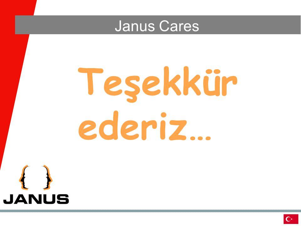 Teşekkür ederiz… Janus Cares