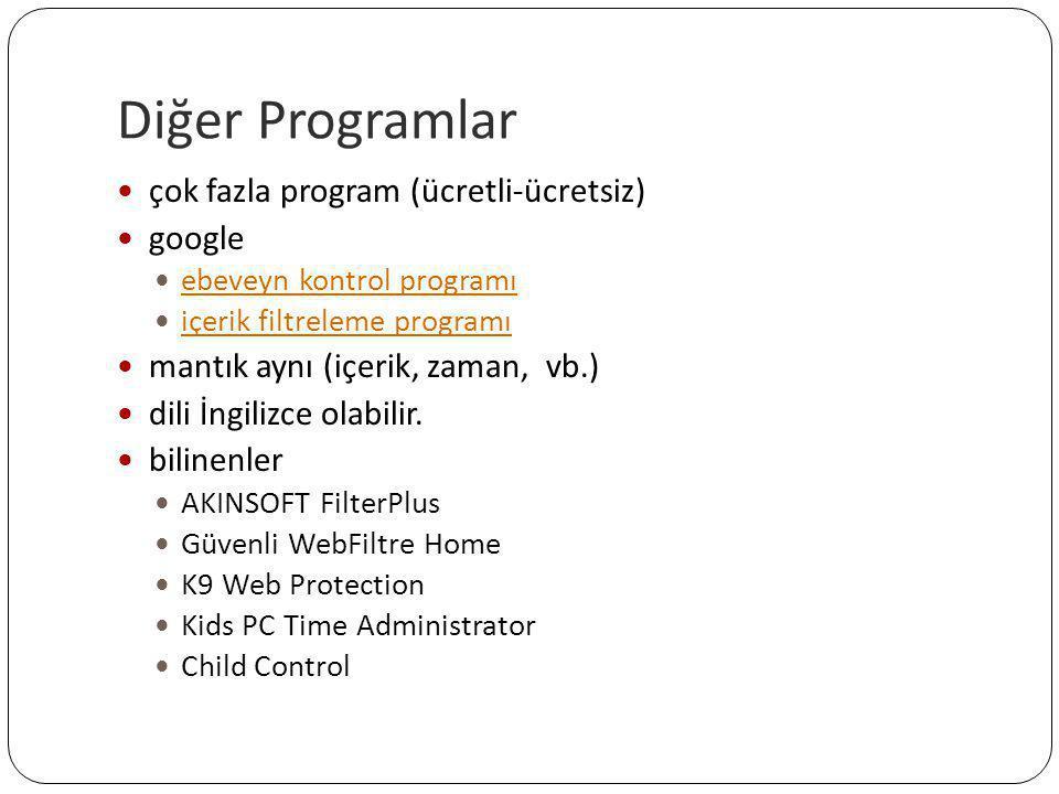 Diğer Programlar  çok fazla program (ücretli-ücretsiz)  google  ebeveyn kontrol programı ebeveyn kontrol programı  içerik filtreleme programı içer