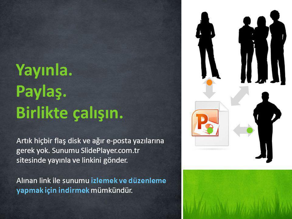 2 Sunumu yükle SlidePlayer.com.tr sitesine kolay indirme