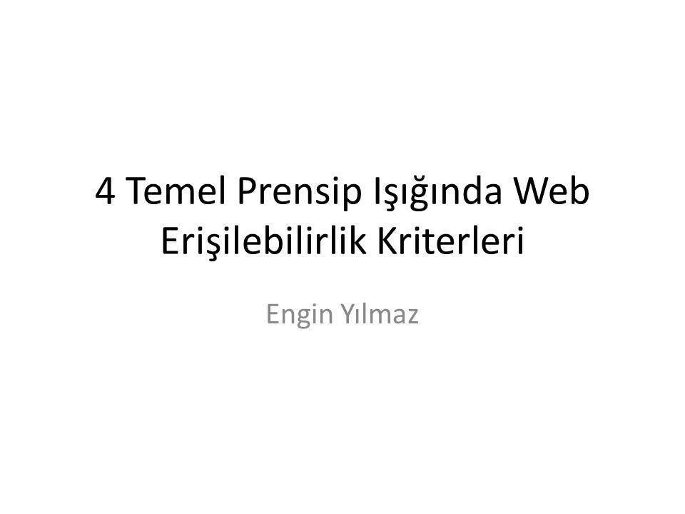 Kaynak http://www.engelsizerisim.com/yazilar.php?ok u=1&bolum=3&id=567 http://www.engelsizerisim.com/yazilar.php?ok u=1&bolum=3&id=567 www.w3.org/wai