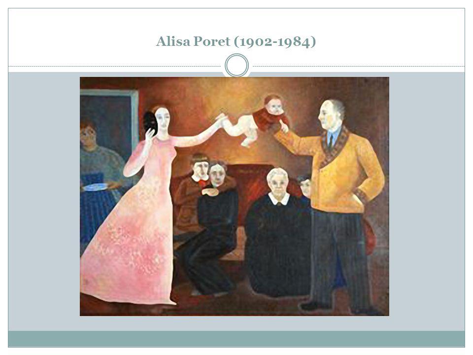 Alisa Poret (1902-1984)