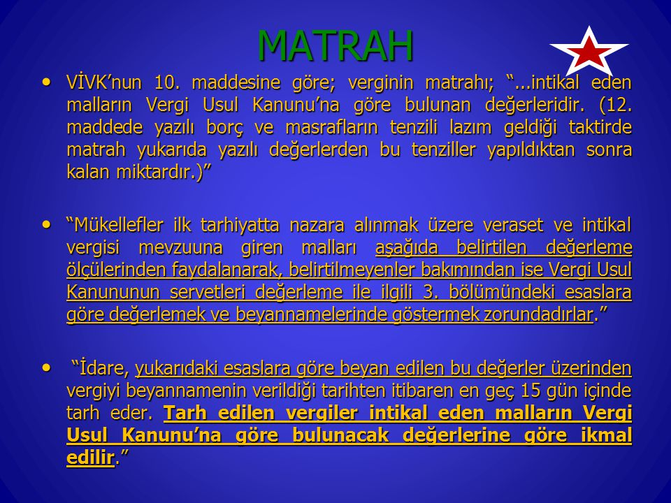 MATRAH VİVK'nun 10.
